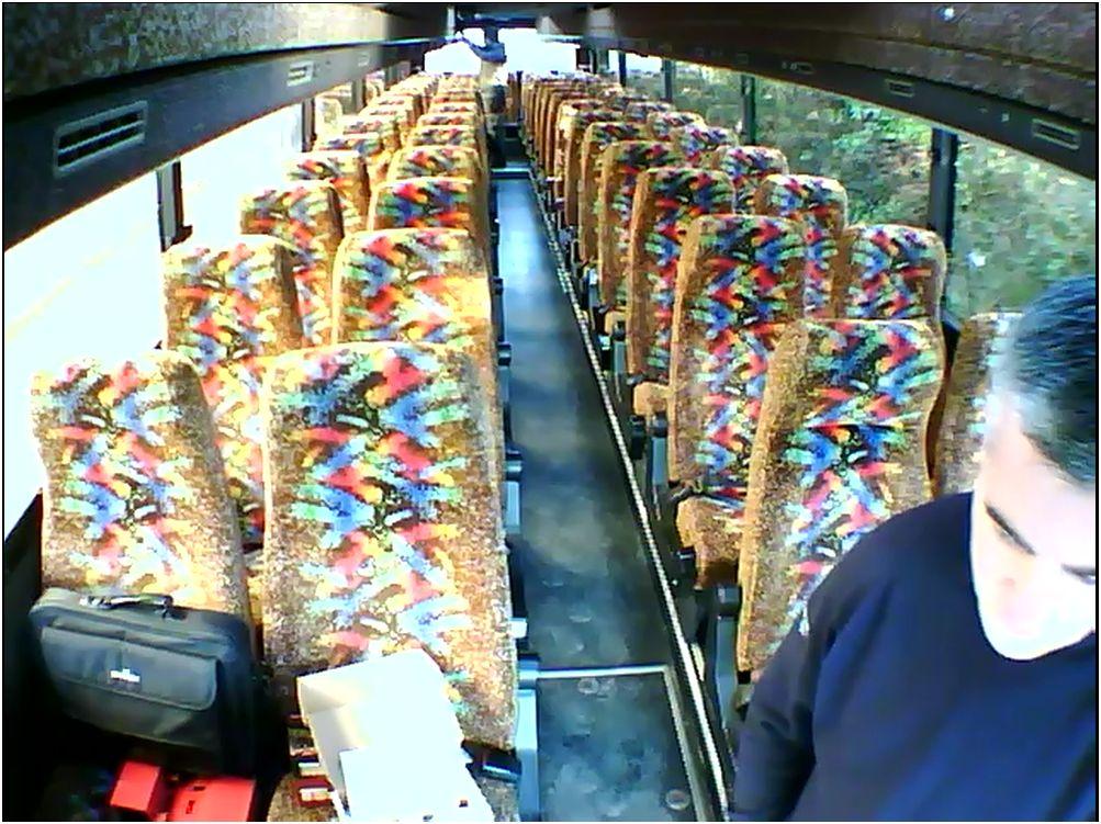Internal View on a Coach
